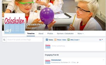 Følg Osloskolen på Facebook
