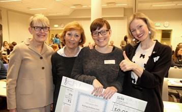 Hallagerbakken vant den første FAU-prisen