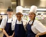 Elever på Restaurant og matfag på Etterstad vgs.